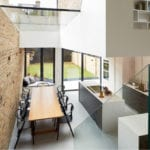 Interior of residential refurb by scenario architects, shot by Matt Clayton architectural photographer