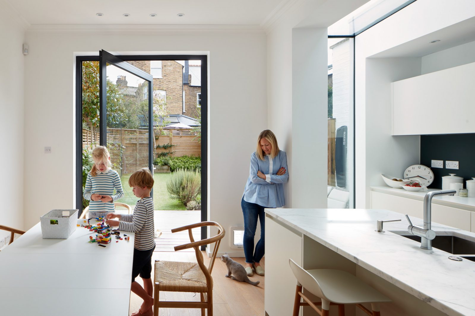 South London Home designed by Cox architect, shot by Matt Clayton architectural photographer