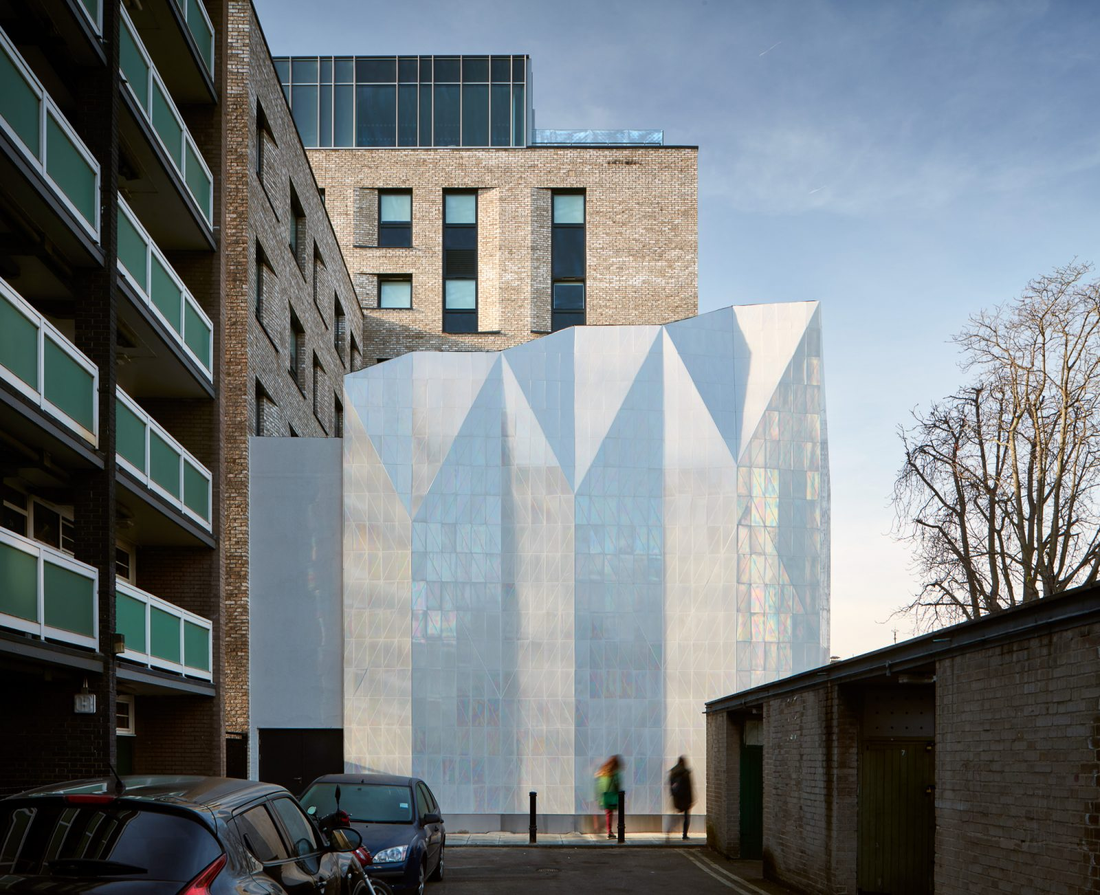 Jestico & Whiles project Peckham shot by Architectural photographer Matt Clayton