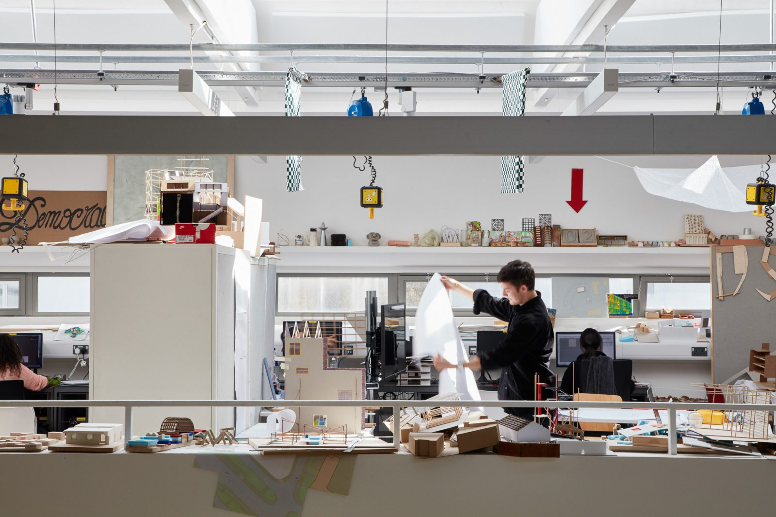 Architecture school, University of Westminster, Matt Clayton