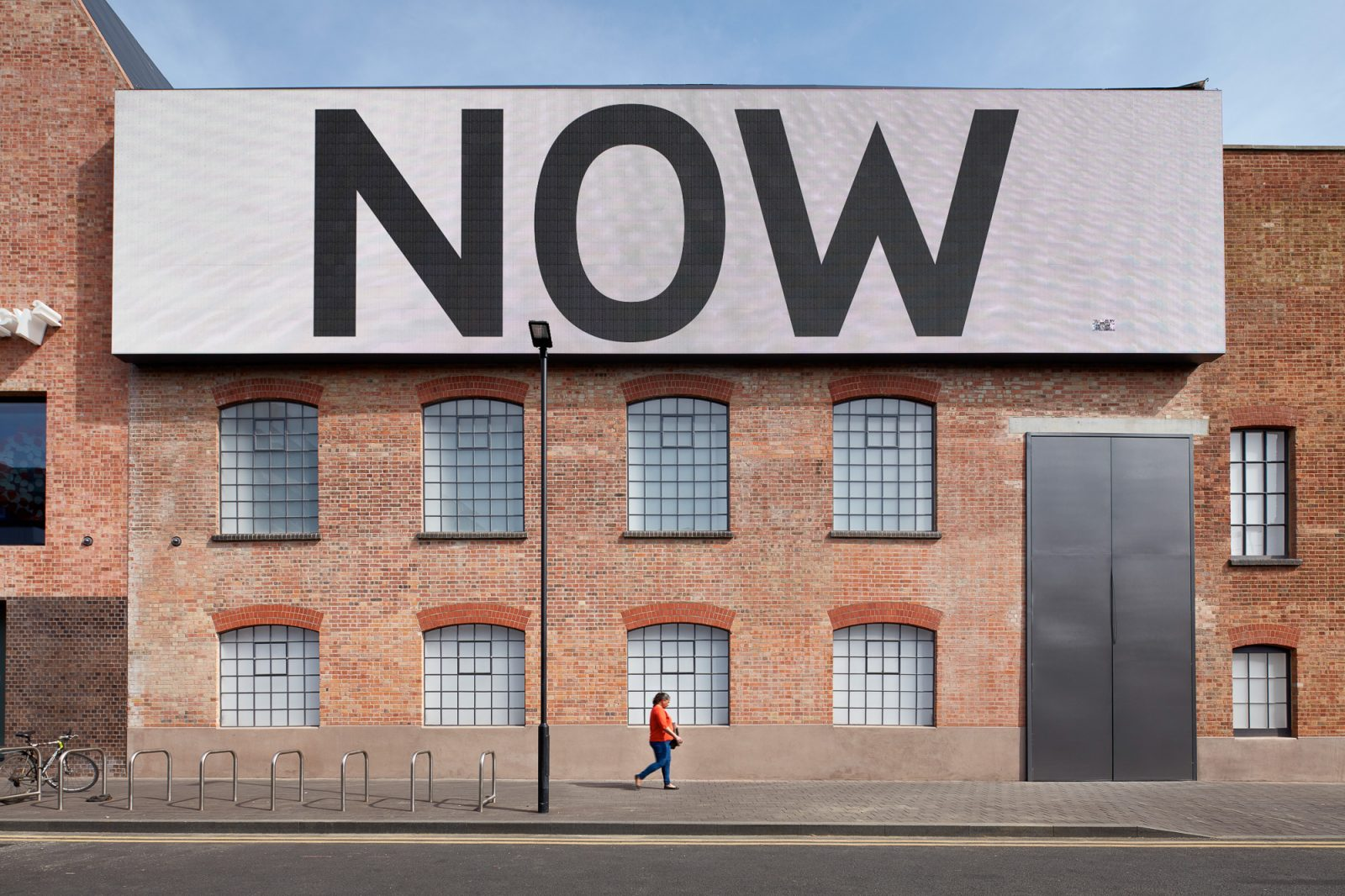 Exterior of Newport Street Gallery shot by London architectural​ photographer Matt Clayton