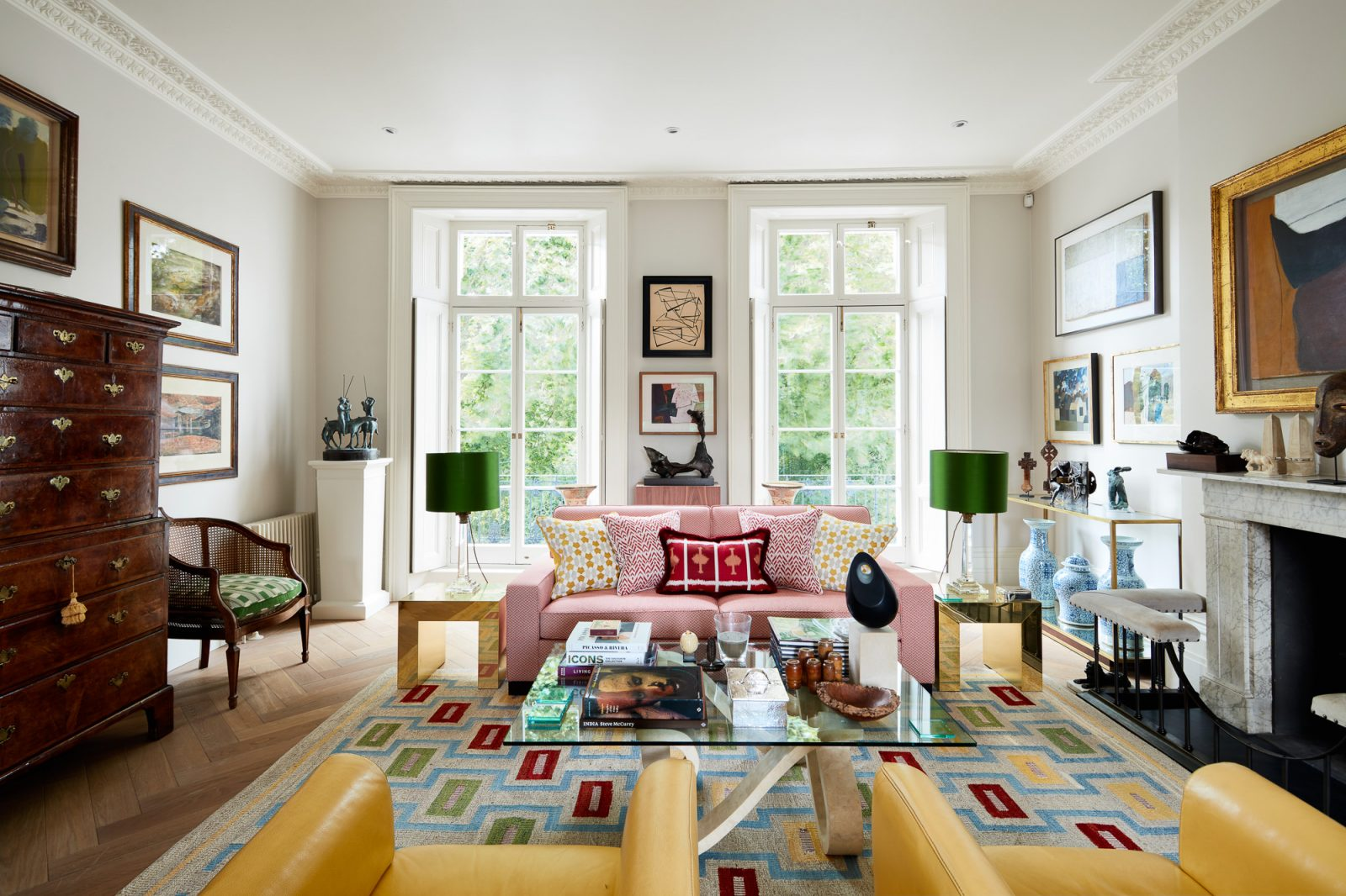Interior for Yellow london, by interior photographer Matt Clayton