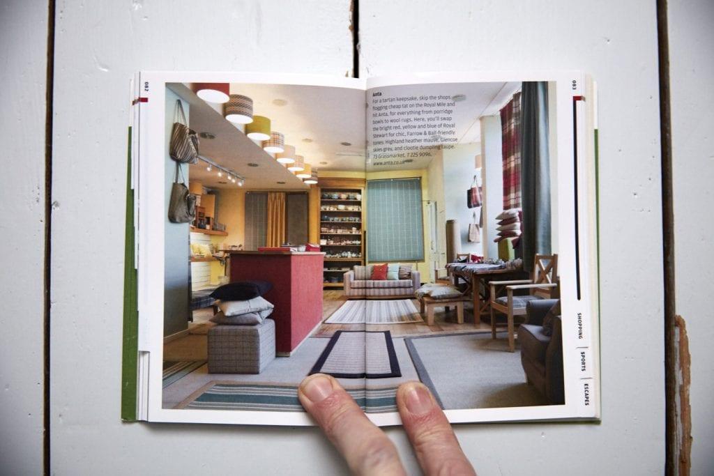 Photography of Matt Clayton in Wallpaper Edinburgh City guide
