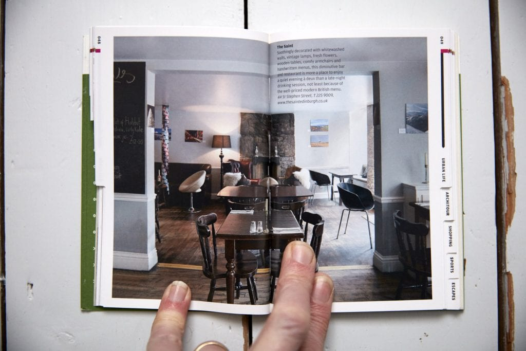 Photography of Matt Clayton in Wallpaper Edinburgh City guide