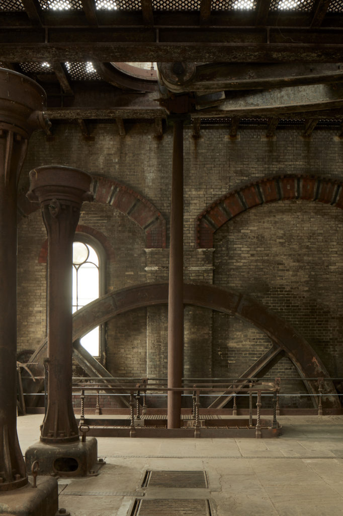 architectural photography of crossness pumping station by Matt Clayton
