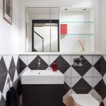 Cloak room Interior photography by Matt Clayton of Mews House by XUL